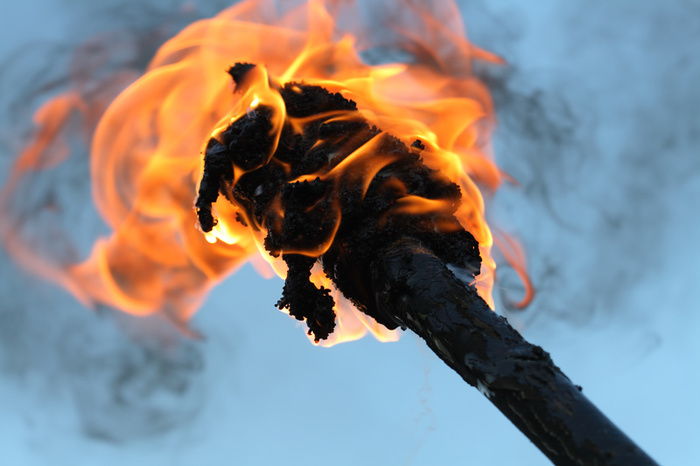 6910flaming torch
