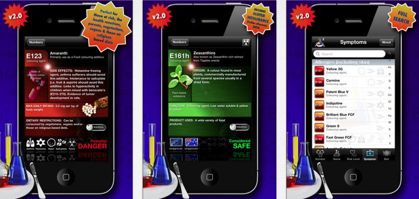 food additives 2 app