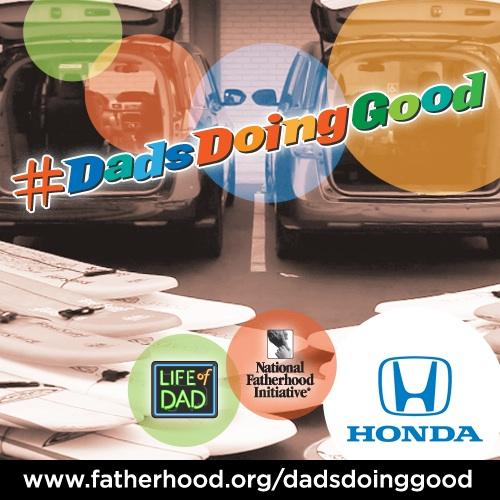 honda dads doing good community service fatherhood family cars