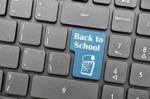 back to school computer key