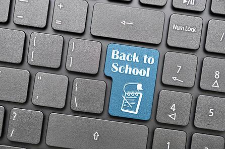back to school computer key