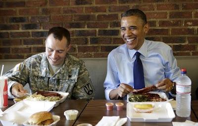 Edwards and Obama