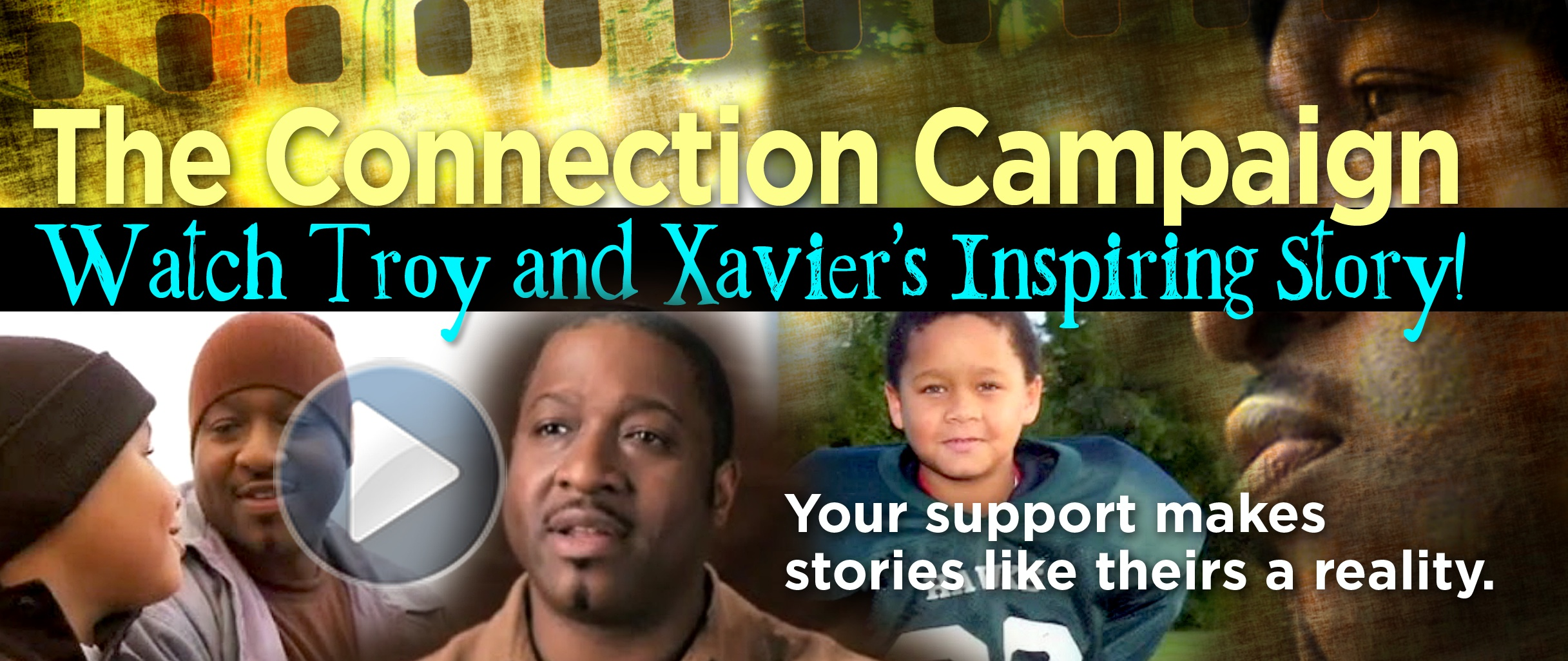 fatherhood connection troy and xavier