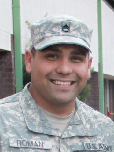 Ssgt Jorge Roman, 2013 Military Fatherhood Award finalist