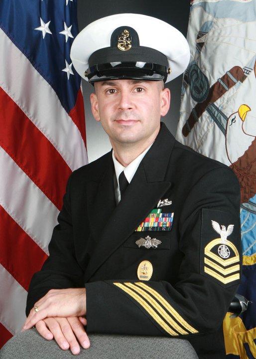 CPO Patrick Mondragon, 2013 Military Fatherhood Award finalist