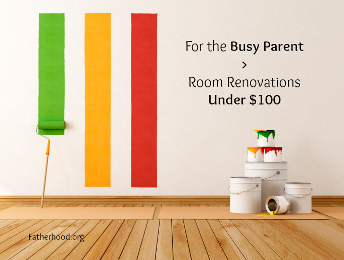 For the Busy Parent > Room Renovations Under $100