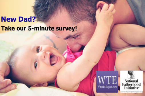 Are you a New Dad? Tell Us Your Thoughts Today!