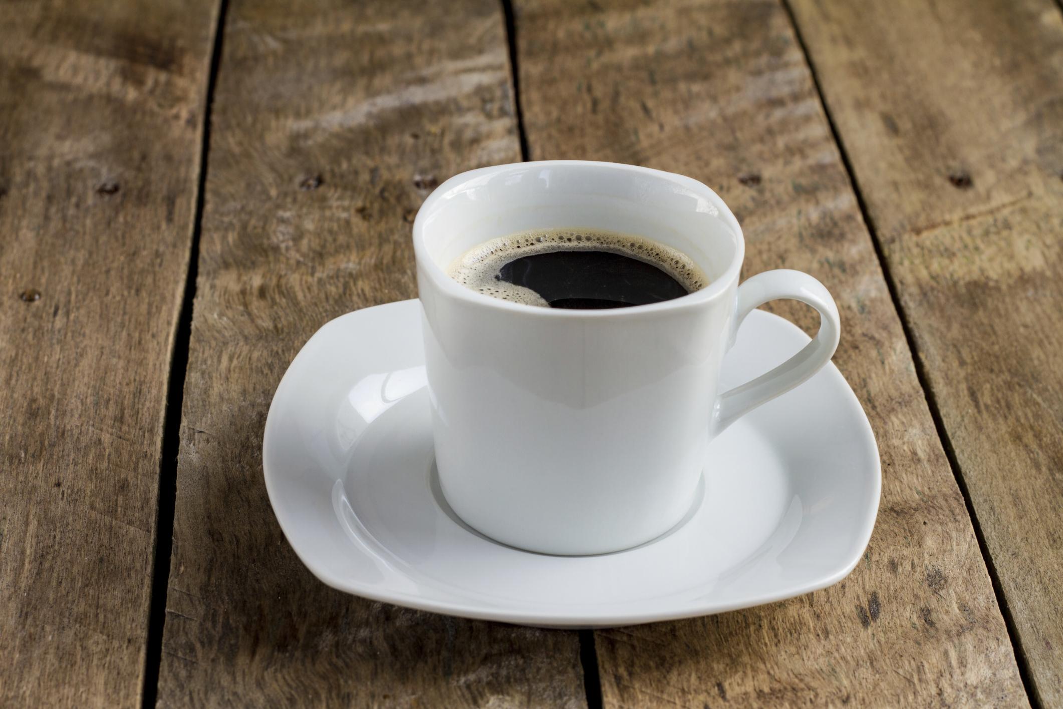 why i drink black coffee