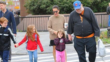 philip seymour hoffman with his kids