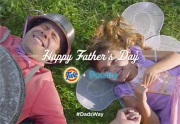 tide downy dadsway social responsibility social good