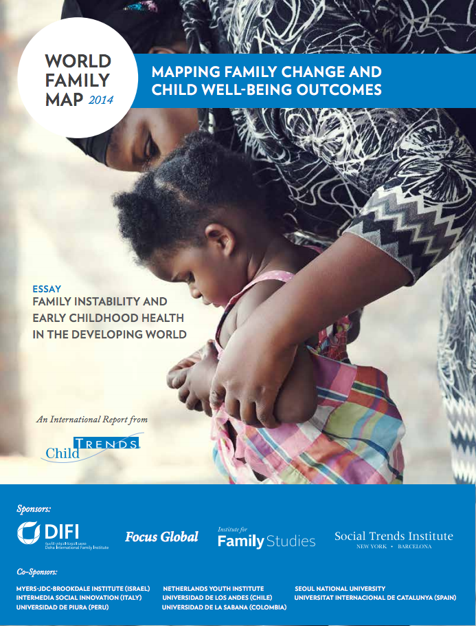 child trends world family map 2014