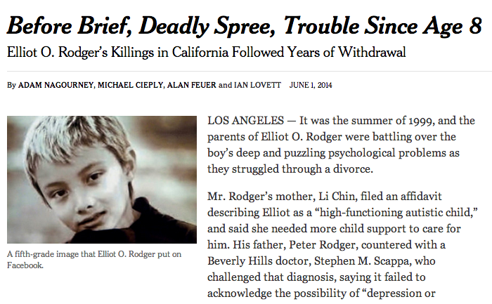 What Dads Can Learn From the Santa Barbara Killing Spree