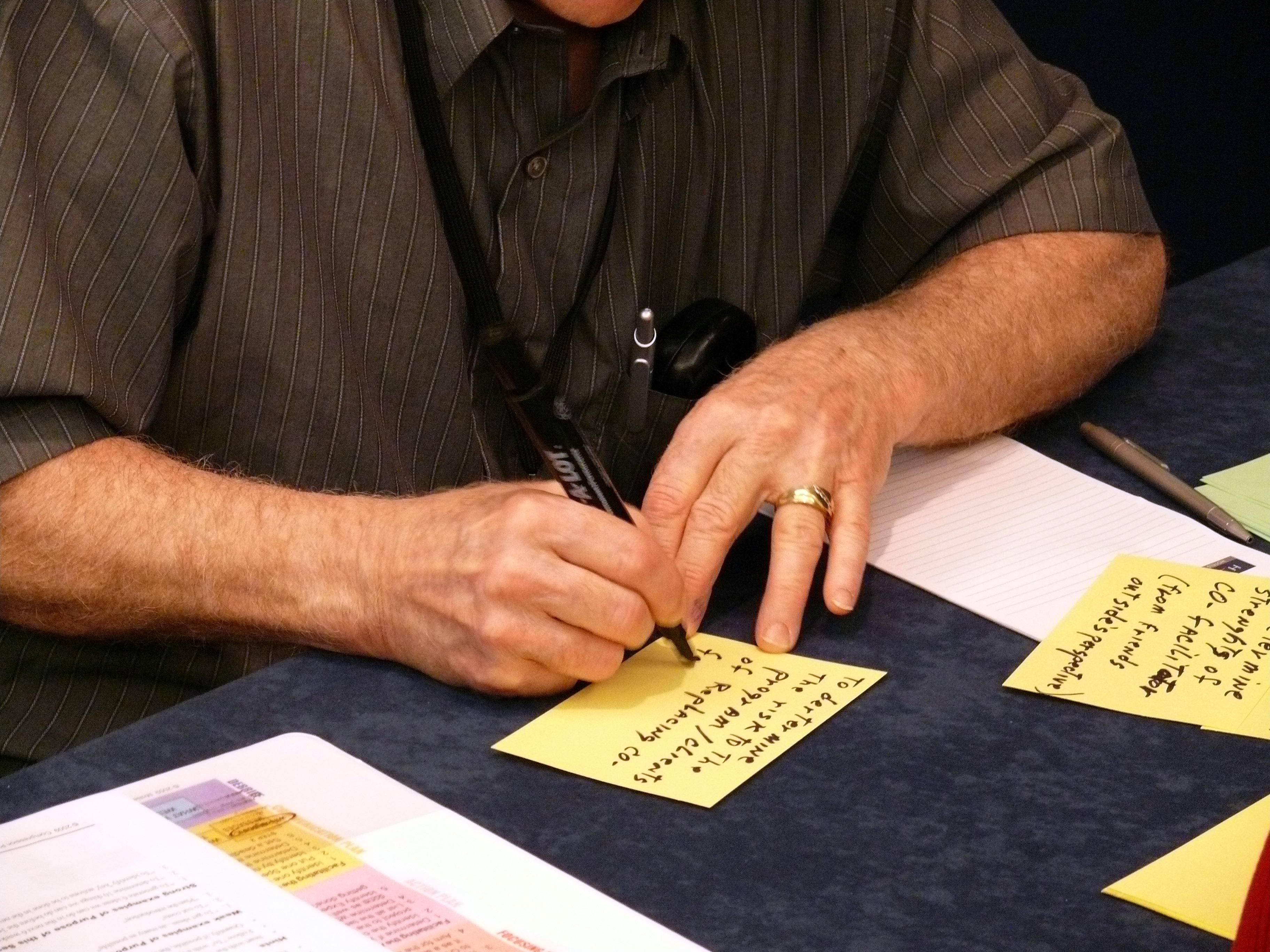 Writing a Father Engagement Plan