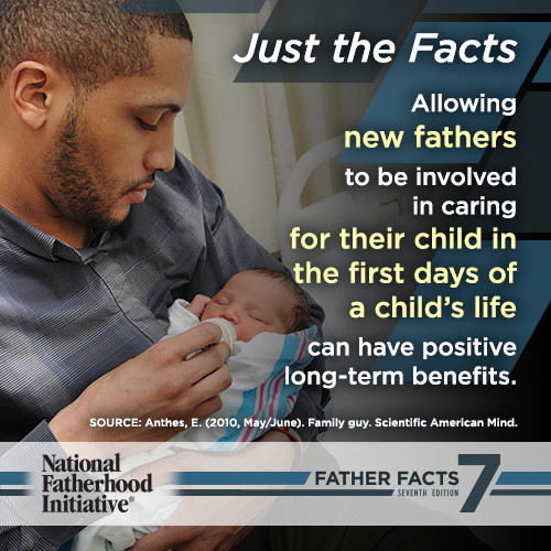Benefits of a New Father's Involvement