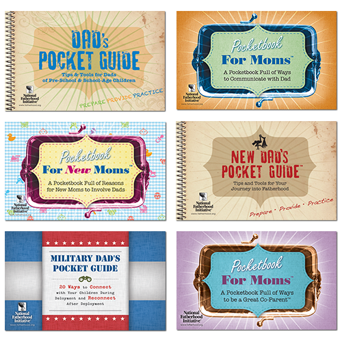 Pocketbooks and Pocketguides for Dads and Moms