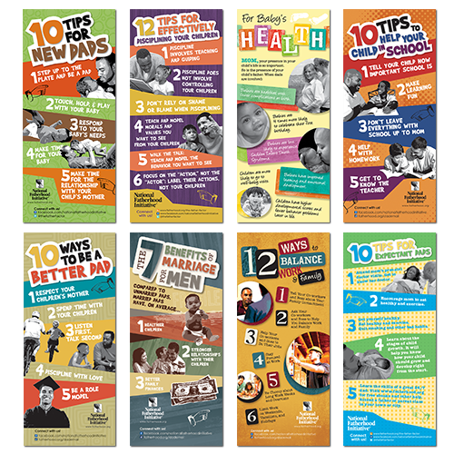 Tip Cards for Moms and Dads