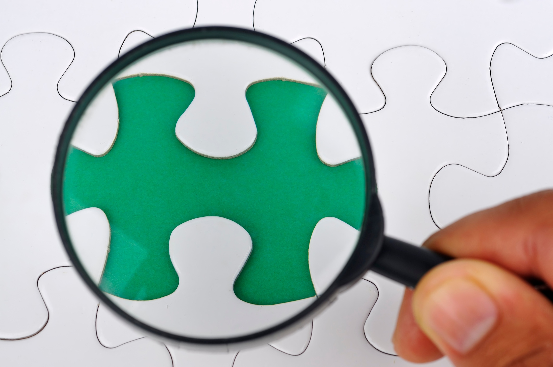 missing piece in puzzle
