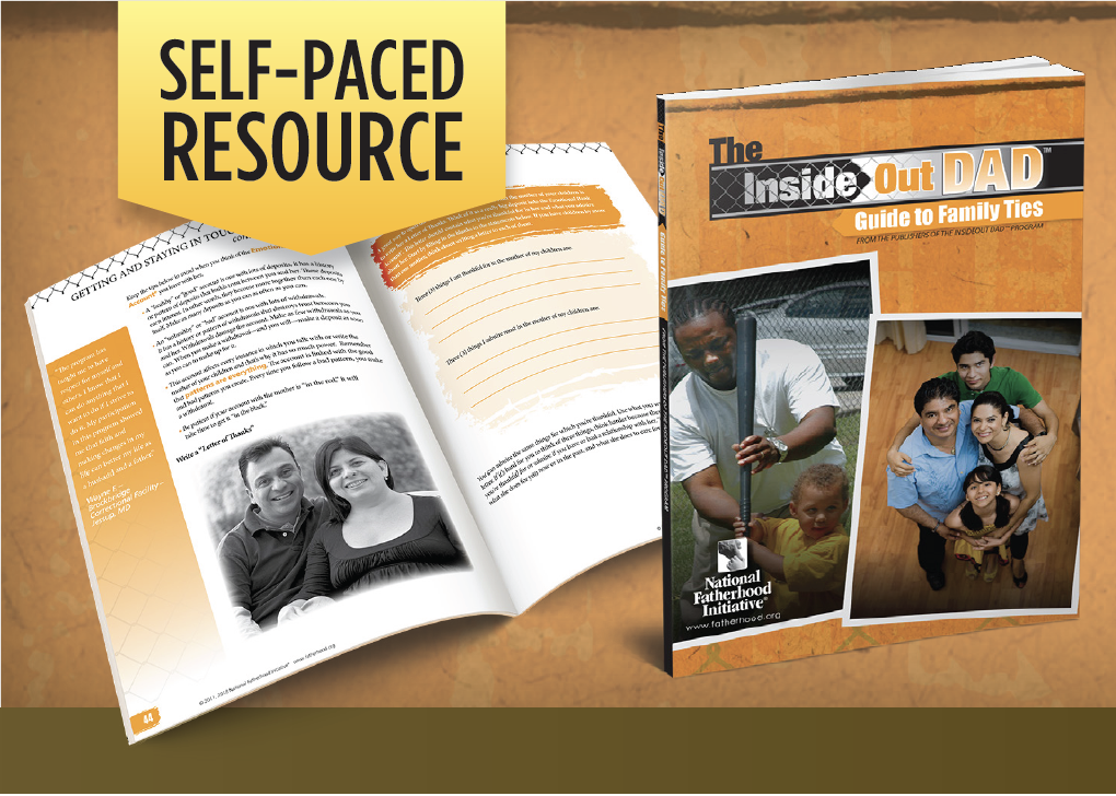 Short on Time? No Problem > A Valuable Resource for Dads in Jails, Reentry, or Short-Term Stay Facilities