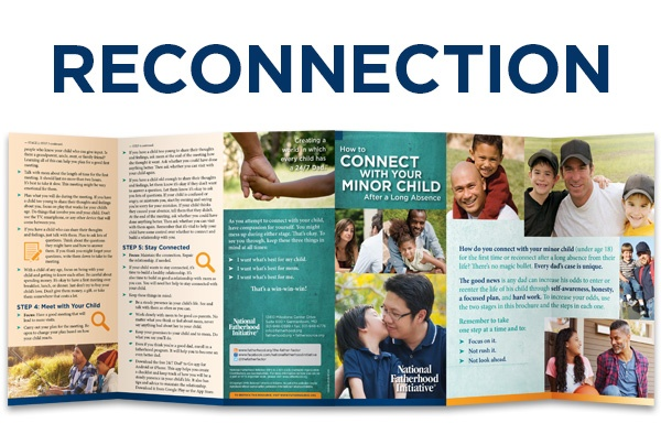 How Organizations Use NFI's Newest Brochure to Reconnect Dads and Children