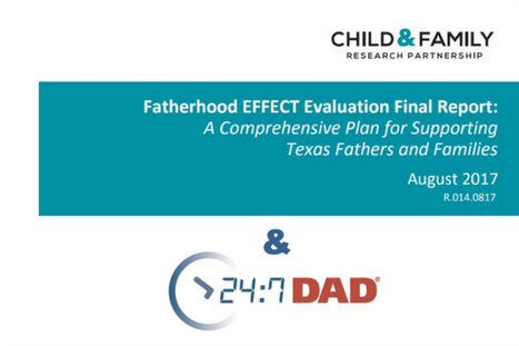 Stunning Evaluation Shows Impact of 24/7 Dad® on Reducing Chance of Child Abuse and Neglect