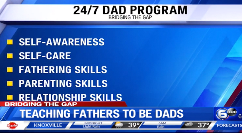 Bridging the Gap: Teaching Fathers to be Dads. Knox County, TN