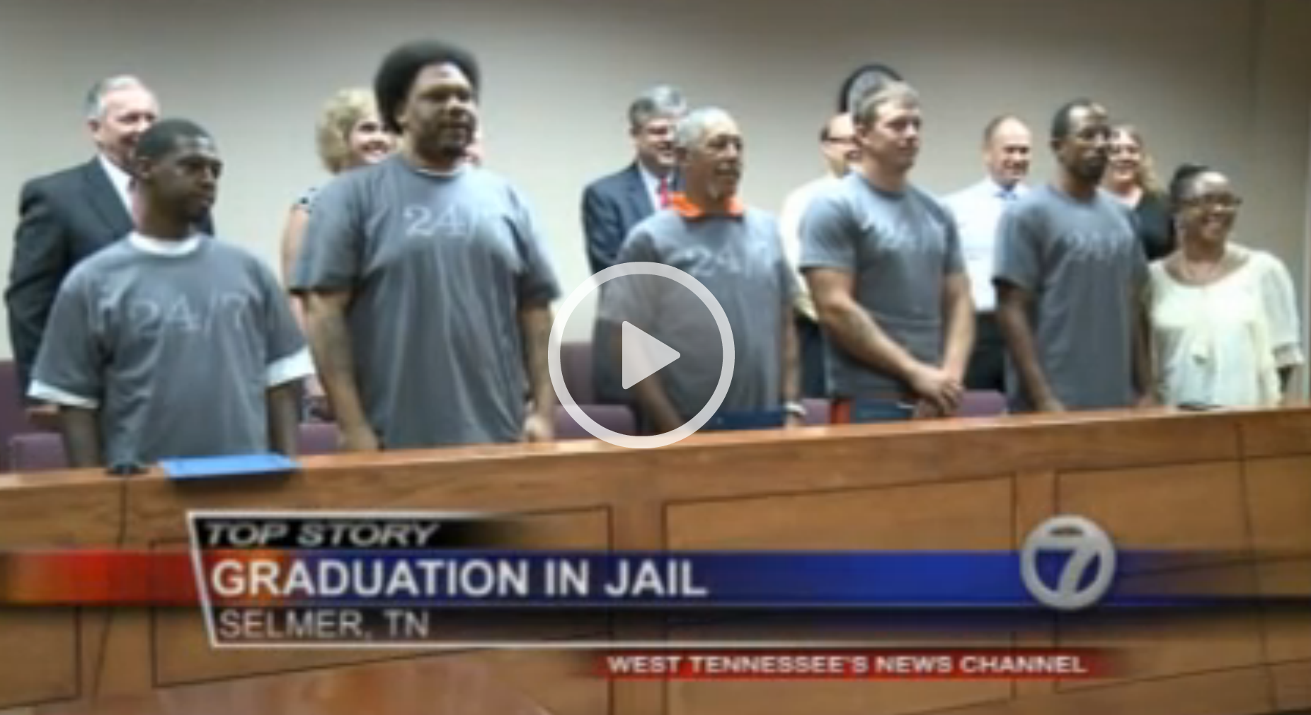 Dads Graduate Fatherhood Pilot Program in McNairy Co Jail, Selmer, Tenn [Video]